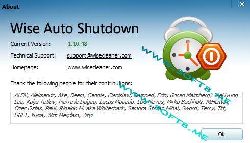 Wise Auto Shutdown 1.7.8.97 多國語言免安裝