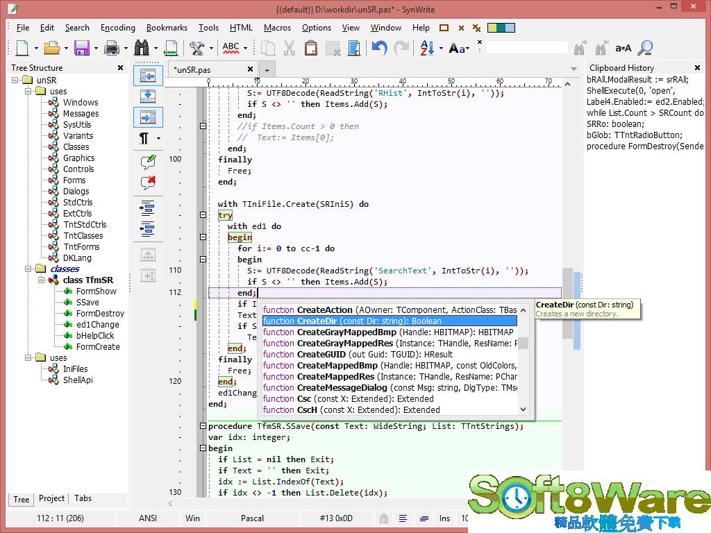 SynWrite Editor 6.41.2780 多國語言免安裝