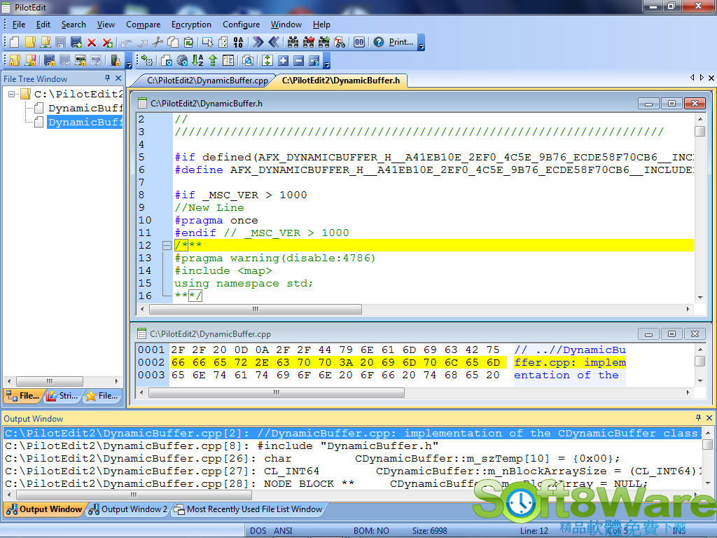 PilotEdit V15.1.0 多國語言免安裝 - 文字編輯器 - 軟體吧