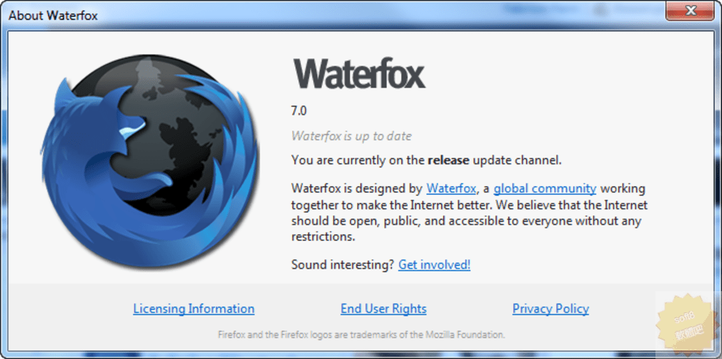 Waterfox Classic 2020.08 繁體中文免安裝