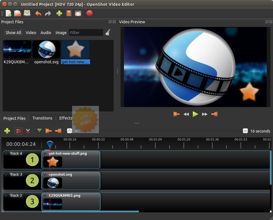 OpenShot Video Editor Portable 2.5.1 多國語言免安裝 -  - 軟體吧
