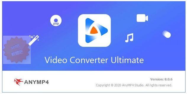 AnyMP4 Video Converter Ultimate 8.1.16 多國語言免安裝