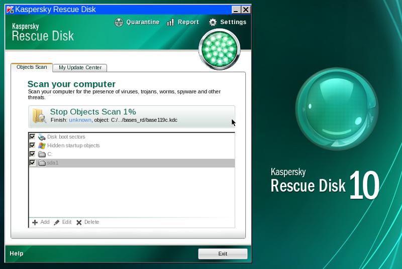 Kaspersky Rescue Disk 18.0.11.0 Build 2020.04.12 -  - 軟體吧